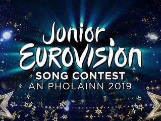 Junior Eurovision 2019 | 3 finalists chosen in Junior Eurovision Éire in Ireland