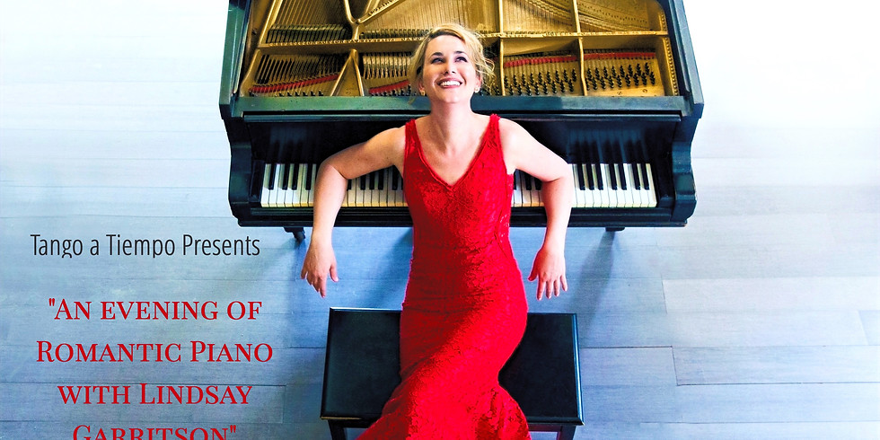 """""""An Evening of Romantic Piano"""" Piano Concert by Lindsay Garritson"""