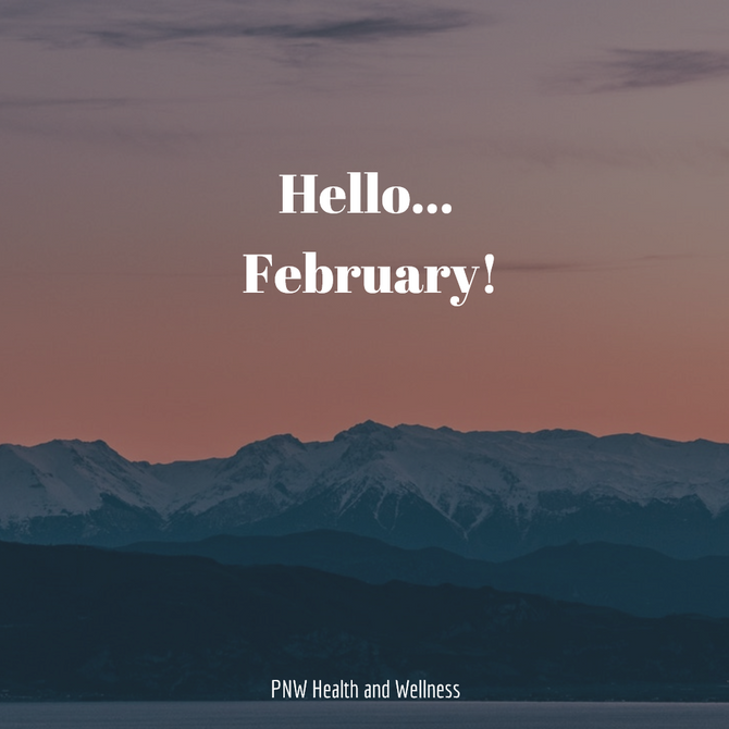 Hello... February!
