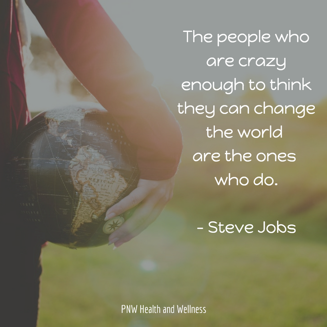 The people who are crazy enough to...