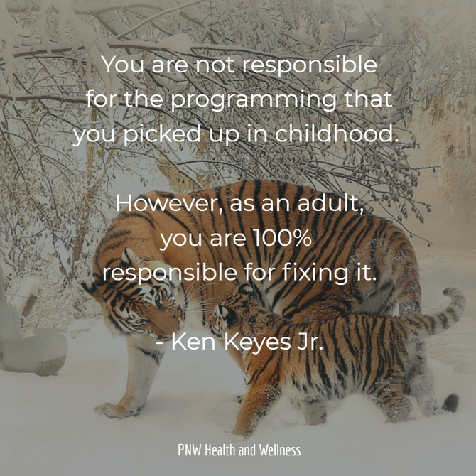 You are not responsible for...