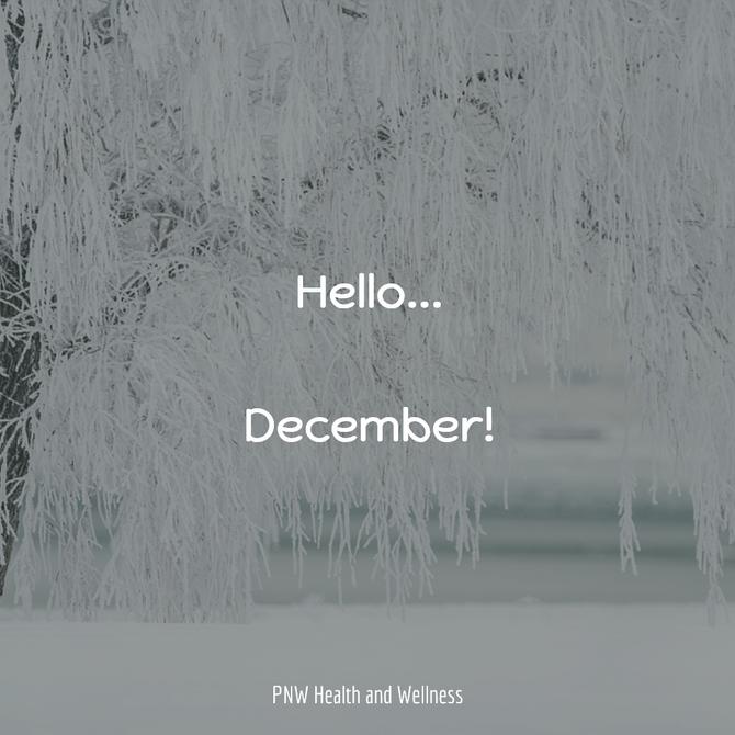 Hello... December!