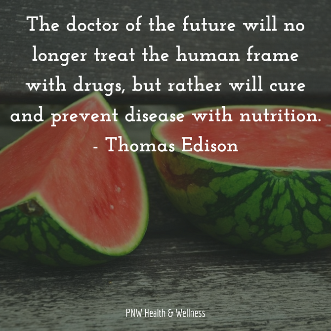 The doctor of the future will...