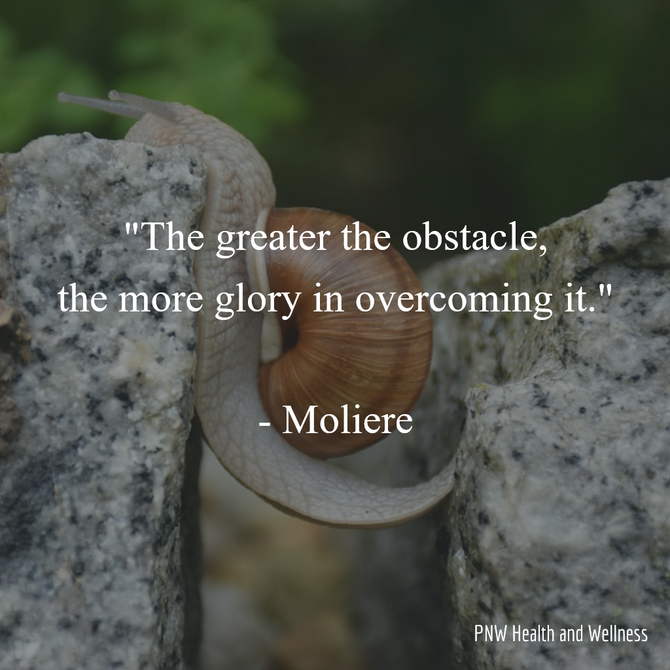 The greater the obstacle...