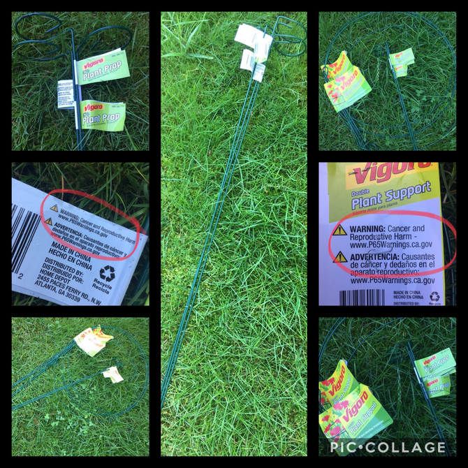 Cancer Warning on Garden Stakes?!?! ⚠️