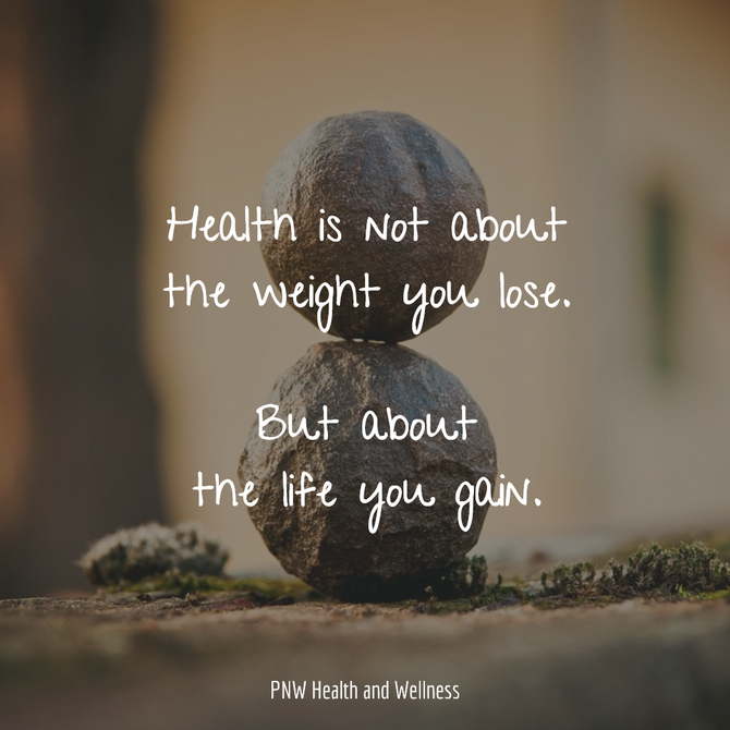 Health is Not about...