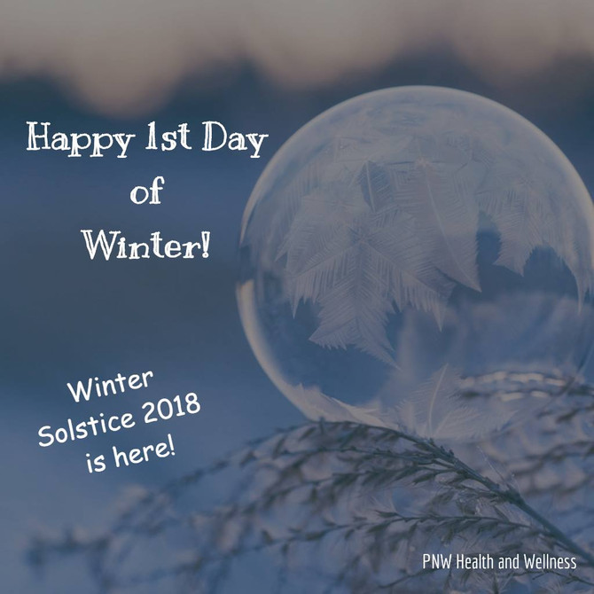 Happy 1st Day of Winter!