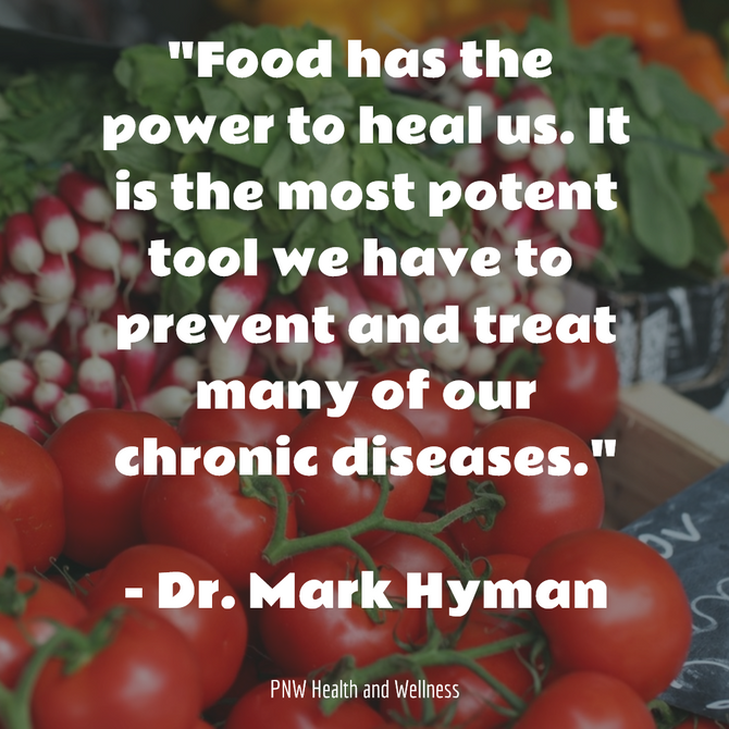 Food has the power to heal us.