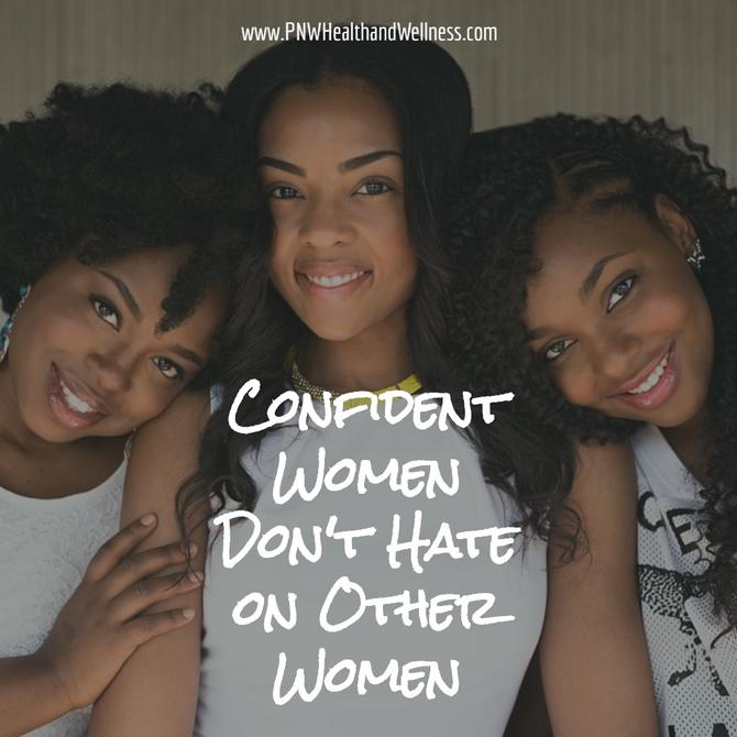 Confident Women Don't...