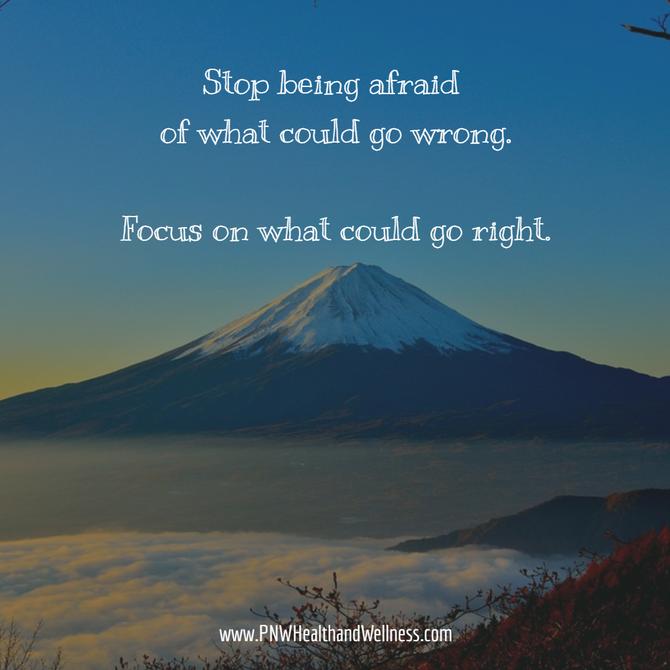 Stop being afraid of...