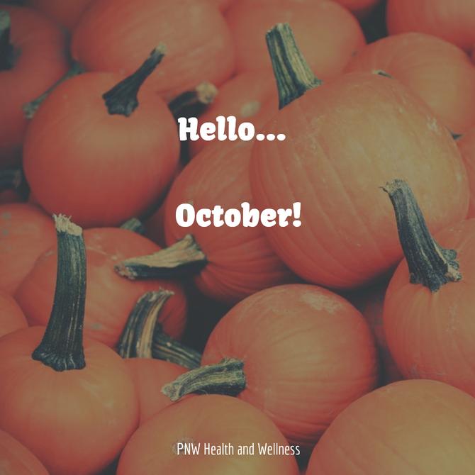 Hello... October!