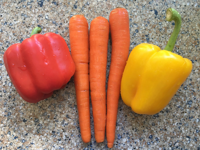 Carrots & Peppers Juice Recipe