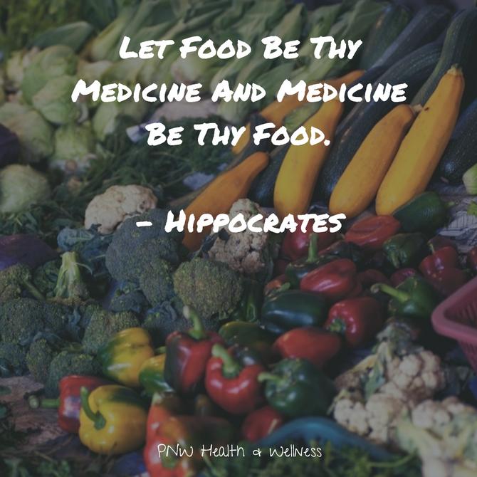 Let Food Be Thy..