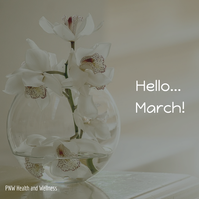 Hello... March!