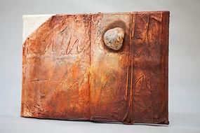 Livre sculpture technique mixte, 40x58x1