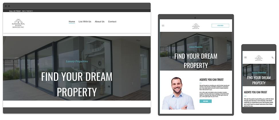 real estate website design consumr buzz.