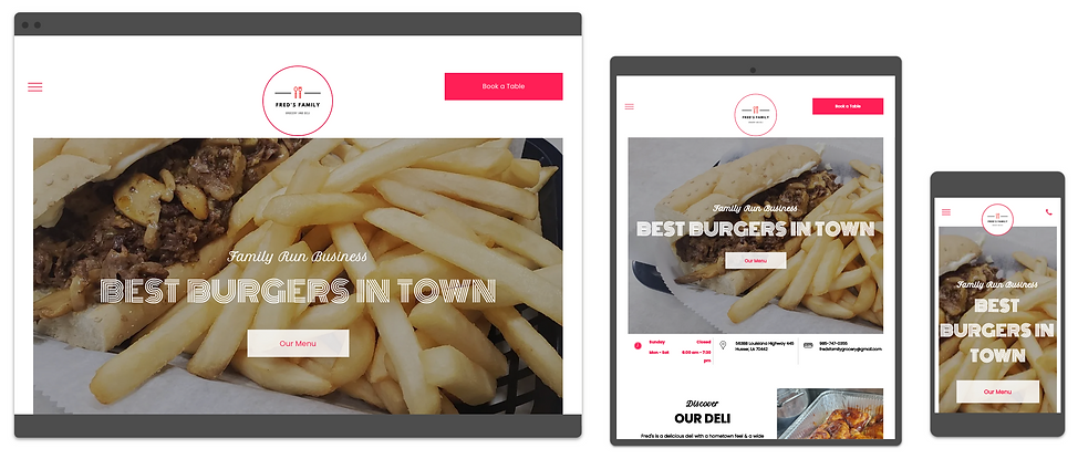 food websites designed by consumr buzz.p
