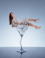 Eliska Buckova drink splash, miniature series