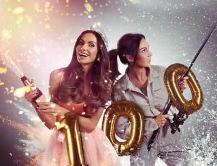 Eliska Buckova 100k followers Ig celebration concept