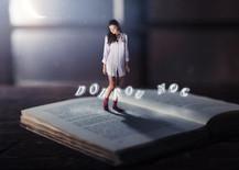 Eliska Buckova good night concept, miniature series