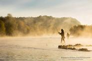 Fishing in Berounka river