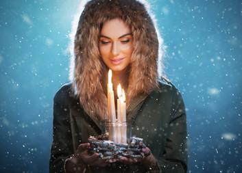Eliska Buckova winter portrait
