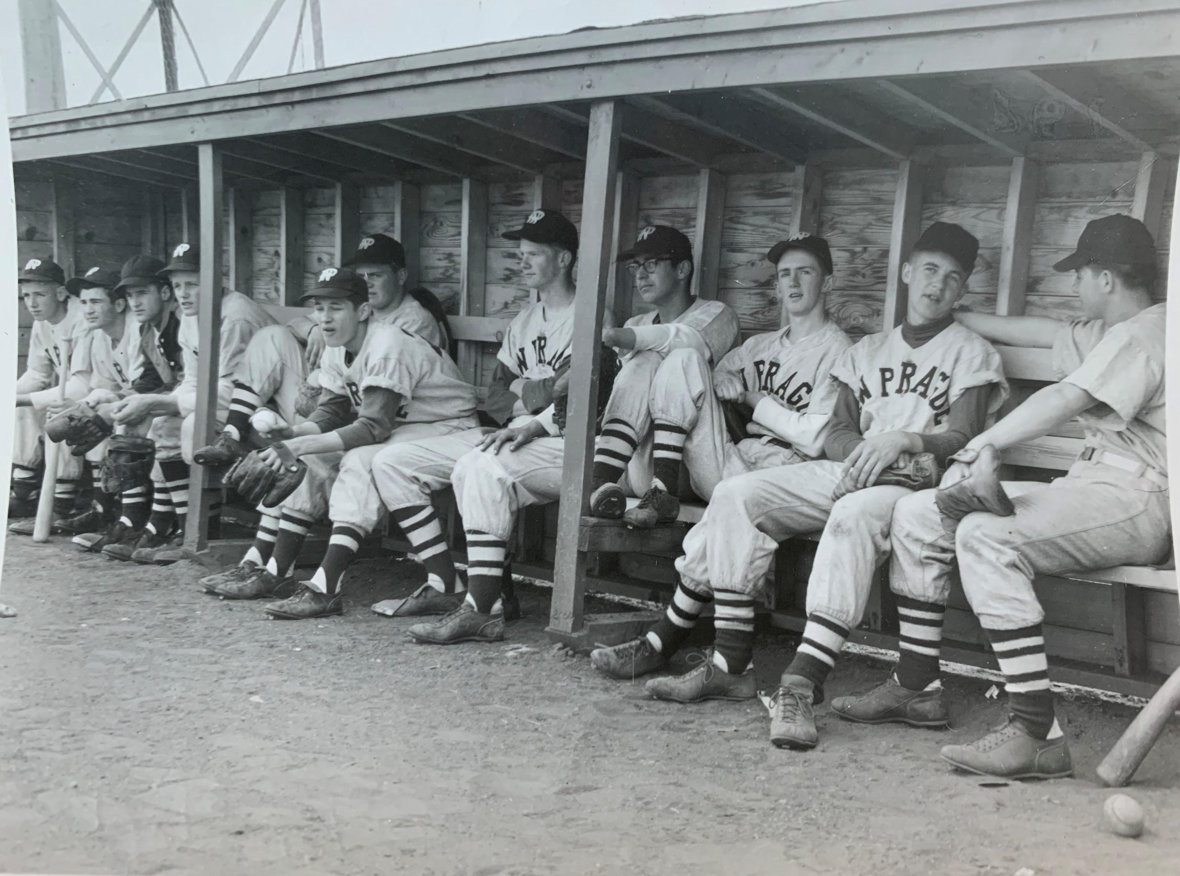 New Prague Baseball Team, 1954?