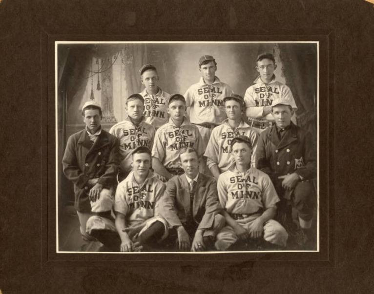 New Prague Baseball Team, 1906.