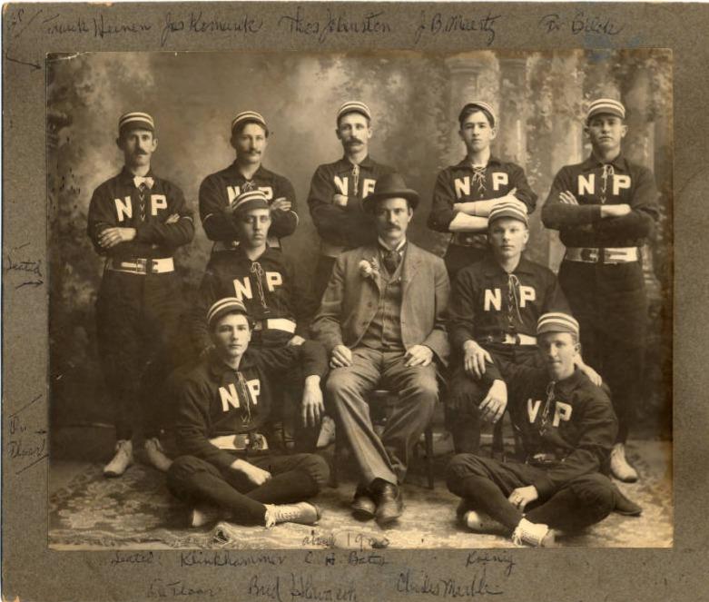 New Prague Baseball Team, 1895?