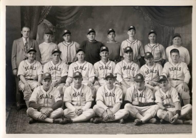 New Prague Seals Baseball Team, 1946
