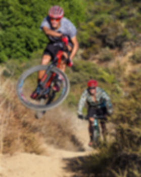 Cycling, Mountain Bike, Person, Jumping, Flair