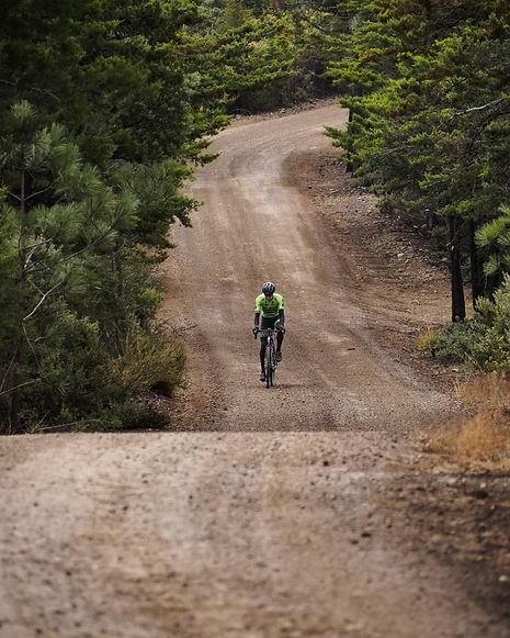 Cycling, Gravel, Lone Person, San Luis Obispo