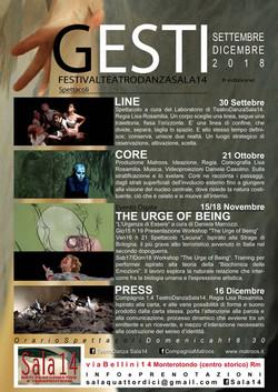 GESTI Festival TeatroDanza Sala14 2018