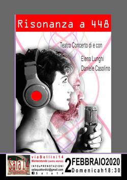 RISONANZA A 448 - Elena Lunghi e Daniele Casolino