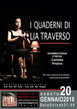 I QUADERNI DI LIA TRAVERSO - Carlotta Piraino
