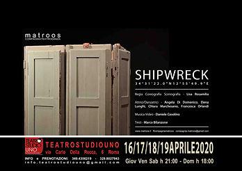 Locandina Shipwreck Studio Uno