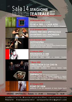 Stagione Teatrale Sala14 2019/20