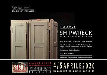 Locandina Shipwreck Sala14