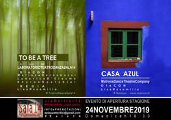 TO BE A TREE // CASA AZUL - Lab TeatroDanza Sala14 e Matroos Company