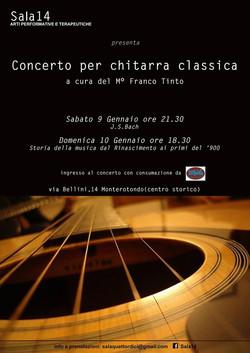 CONCERTO PER CHITARRA CLASSICA - Franco Tinto
