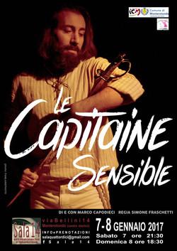 LE CAPITAINE SENSIBLE - Pescatori di Poesia Teatro
