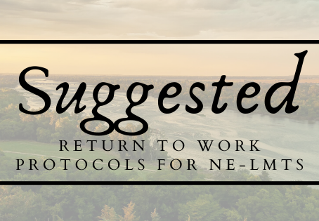 Suggested Protocols for Return to Work