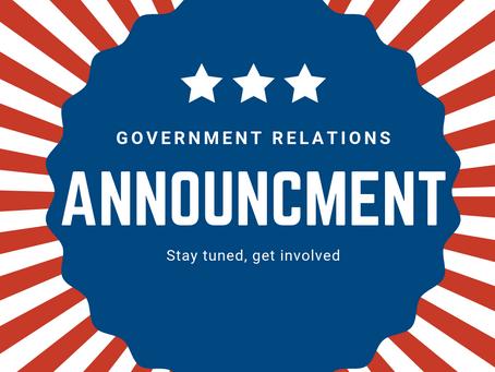 Legislative Updates - Great News!