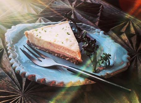 RAW COCONUT CASHEW LIME CAKE