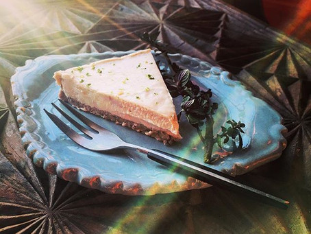 RAW COCONUT CASHEW LIME CAKE