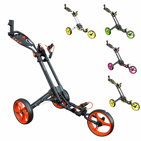MASTERS iCART ONE 3 WHEEL ONE CLICK PUSH TROLLEY