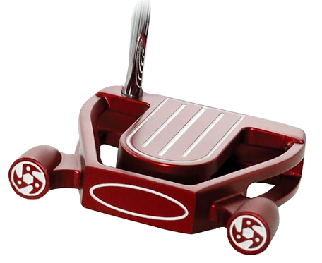 """BEN SAYERS NB2 RED SPIDER PUTTER 34"""" (INC HEADCOVER)"""