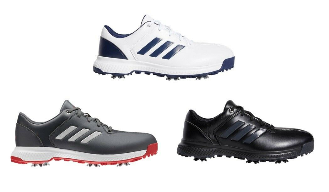 new styles 8fdda d6694 ADIDAS CP TRAXION SPIKED WATERPROOF SHOES (VARIOUS SIZES & COLOURS) WIDE |  BargainGolfEquipment