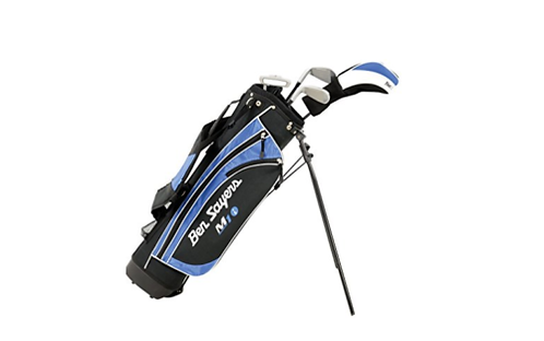 BEN SAYERS M1i JUNIOR AGE 5 - 8 PACKAGE SET INC BAG (RIGHT HANDED)(BLUE BAG)