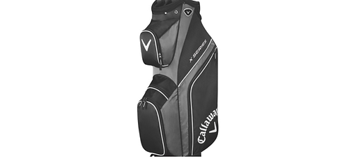 CALLAWAY X SERIES CART/TROLLEY BAG (VARIOUS COLOURS) 14 WAY DIVIDER